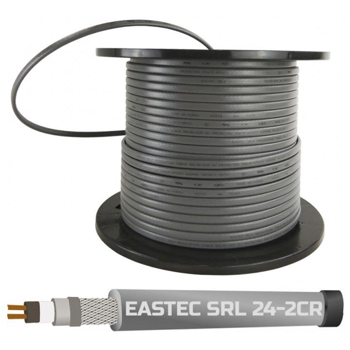 EASTEC SRL 24-2 CR, M=24W (200м/рул.), греющий кабель, пог.м.