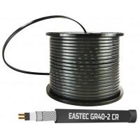 EASTEC GR 40-2 CR, M=40W (200м/рул.), греющий кабель с УФ защитой, пог.м.