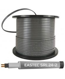 EASTEC SRL 24-2 M=24W (300м/рул.),греющий кабель без оплетки