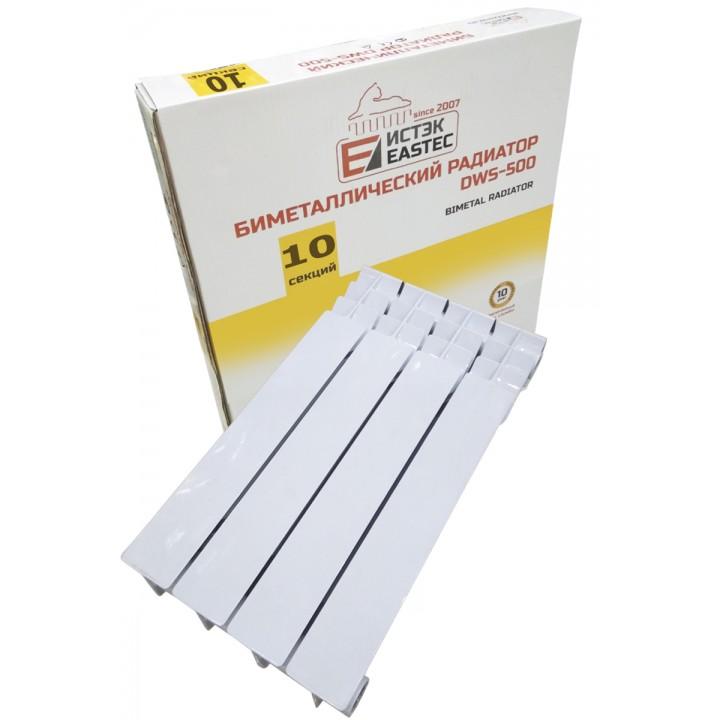 Радиатор биметаллический EASTEC DWS-500 (10секц)