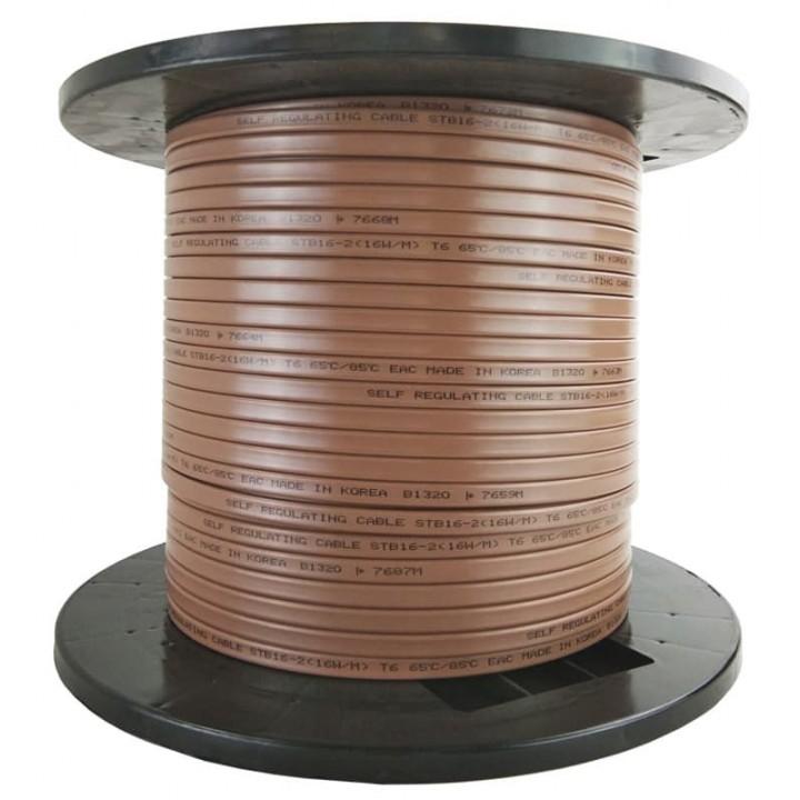 STB 16-2 (16 Вт/м) Саморегулирующийся нагревательный кабель, Ю. Корея