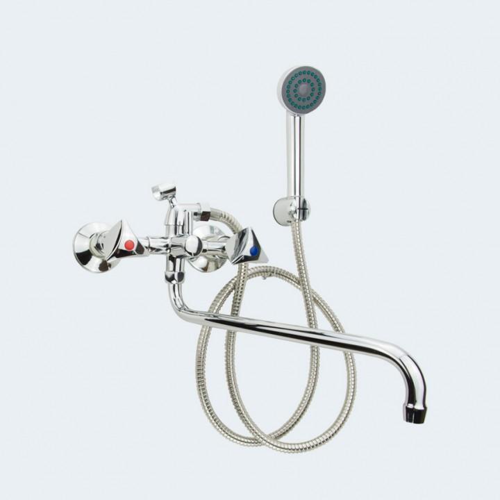 Смеситель/ванны Р-К 14 с держателем (Ригель-Сиб)