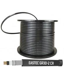 EASTEC GR 30-2 CR, M=30W (200м/рул.), греющий кабель с УФ защитой