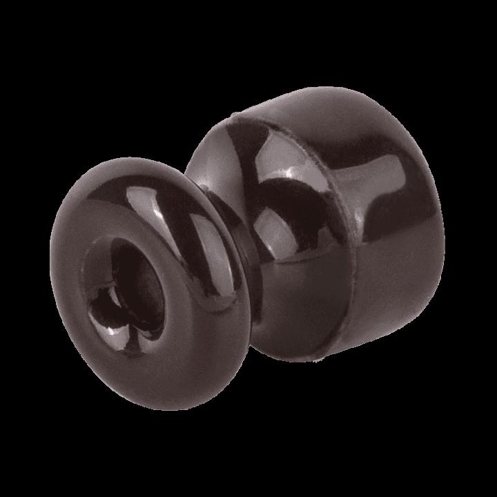 Изолятор WERKEL (коричневый) 1шт. WL18-17-01 Ретро