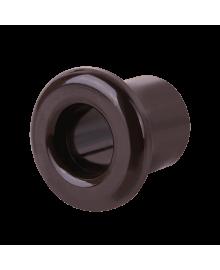 Втулка для вывода кабеля из стены WERKEL (коричневый) 1шт. WL18-18-01 Ретро