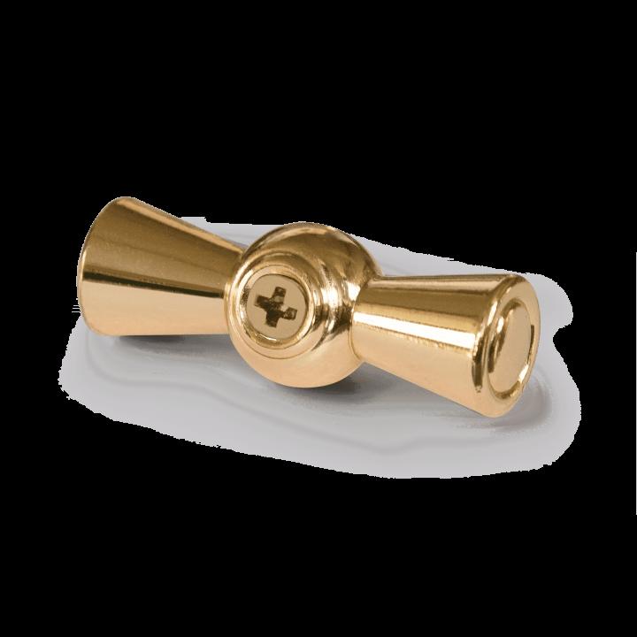 Ручка выключателя WERKEL (золото) 2шт. WL18-20-01 Ретро