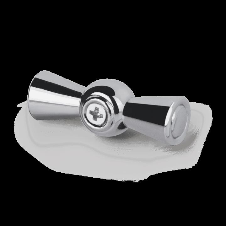 Ручка выключателя WERKEL (хром) 2шт. WL18-20-01 Ретро