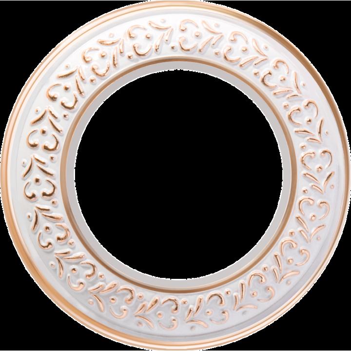 Рамка на 1 пост WERKEL (белое золото) WL70-Frame-01
