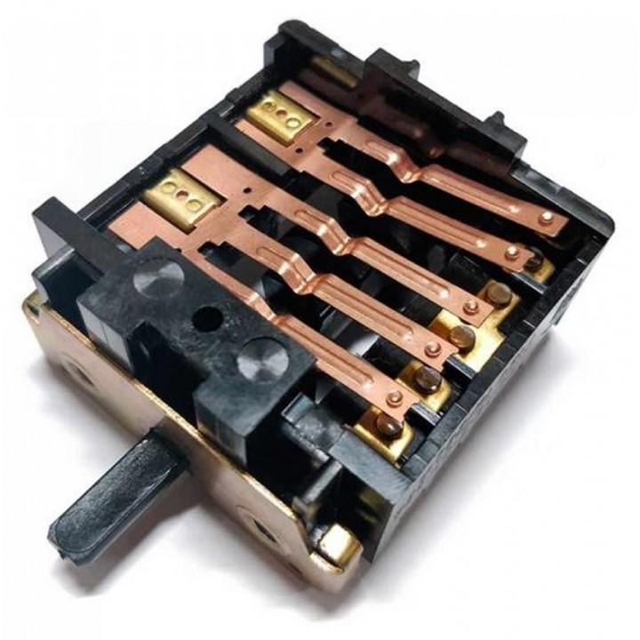 Переключатель электропечки 5-позиций 4 гр. контактов