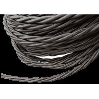Кабель витой 2х2,5 WERKEL (коричневый) Ретро