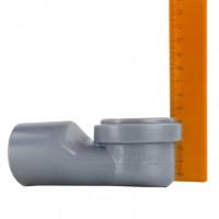 Трап сантехнический MAGdrain PYC 01 Q50-B (100*100, магнитный клапан, Нерж., Круглый)