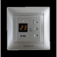 Терморегулятор EASTEC E-34 серебро (Встраиваемый 3,5 кВт)