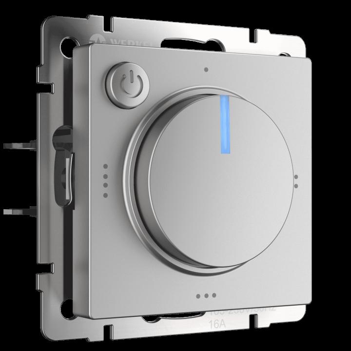Терморегулятор электромеханический для теплого пола WERKEL (серебряный) WL06-40-01