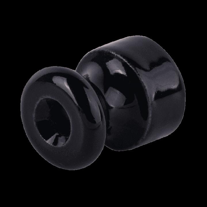 Изолятор WERKEL (черный) 1шт. WL18-17-01 Ретро