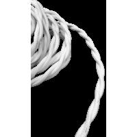 Кабель витой 2х2,5 WERKEL (белый) Ретро